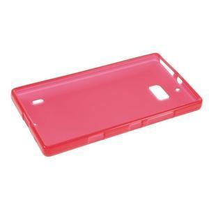 Matný gelový kryt pro Nokia Lumia 930 - červený - 5