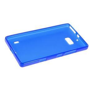 Matný gelový kryt pro Nokia Lumia 930 - modrý - 5