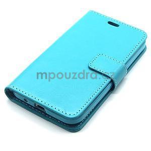 Tyrkysové pouzdro na Samgung Galaxy Core Prime - 5
