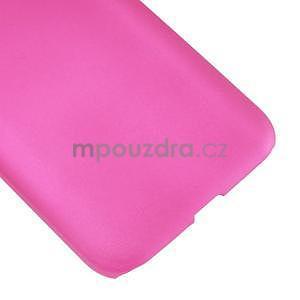 Pogumový plastový obal na Samsung Galaxy Core Prime - rose - 5