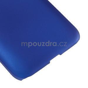 Pogumový plastový obal na Samsung Galaxy Core Prime - modrý - 5