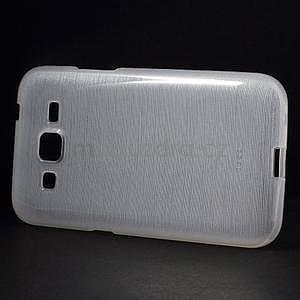 Broušený gelový kryt na Samsung Galaxy Core Prime - transparentní - 5