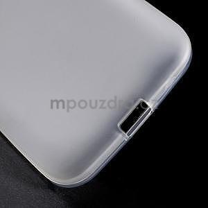 Bílý matný gelový kryt Samsung Galaxy Core Prime - 5