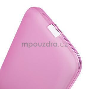 Rose matný gelový kryt Samsung Galaxy Core Prime - 5