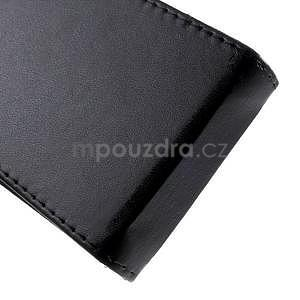 Černé flipové pouzdro na Samsung Galaxy Core Prime - 5