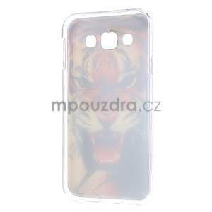 Gelový obal na mobil Samsung Galaxy E5 - tygr - 5