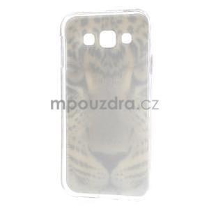 Gelový obal na mobil Samsung Galaxy E5 - leopard - 5