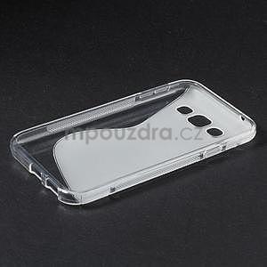 Transparentní gelový obal Samsung Galaxy E5 - 5