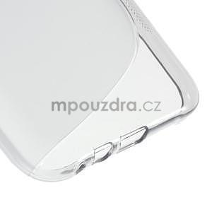 S-line gelový obal na Samsung Galaxy E7 - šedý - 5
