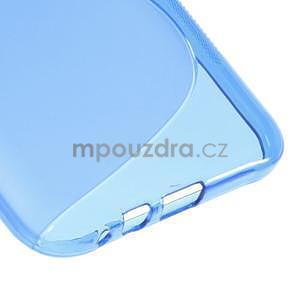 S-line gelový obal na Samsung Galaxy E7 - modrý - 5