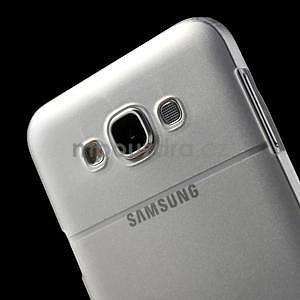 Plastový kryt na mobil Samsung Galaxy E7 - transparentní - 5