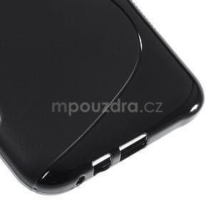 S-line gelový obal na Samsung Galaxy E7 - černý - 5