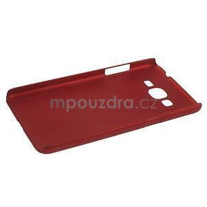 Pogumovaný kryt pro Samsung Galaxy Grand Prime - červený - 5