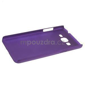 Pogumovaný kryt pro Samsung Galaxy Grand Prime - fialový - 5