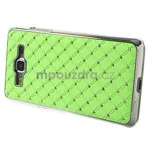 Zelený drahokamový kryt na Samsung Grand Prime - 5