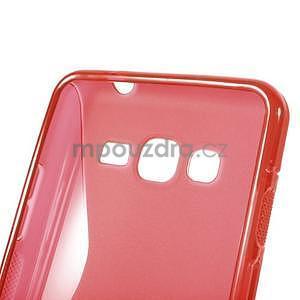S-line gelový obal na Samsung Galaxy Grand Prime - červený - 5