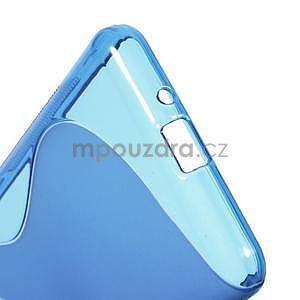 S-line gelový obal na Samsung Galaxy Grand Prime - modrý - 5