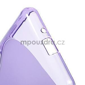 S-line gelový obal na Samsung Galaxy Grand Prime - fialový - 5