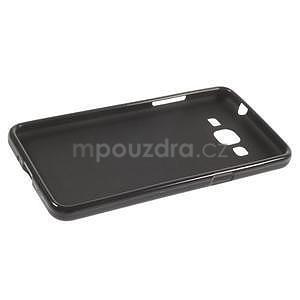 Černý matný gelový obal pro Samsung Galaxy Grand Prime - 5