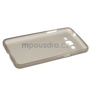 Šedý matný gelový obal pro Samsung Galaxy Grand Prime - 5