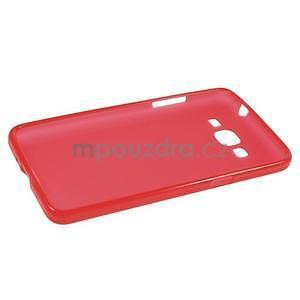 Červený matný gelový obal pro Samsung Galaxy Grand Prime - 5