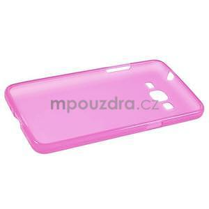 Rose matný gelový obal pro Samsung Galaxy Grand Prime - 5