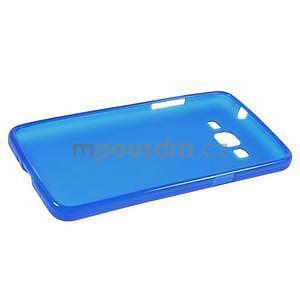 Modrý matný gelový obal pro Samsung Galaxy Grand Prime - 5