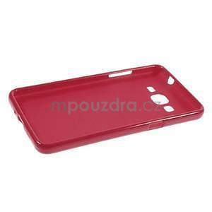Gelový kryt na Samsung Galaxy Grand Prime - červený - 5