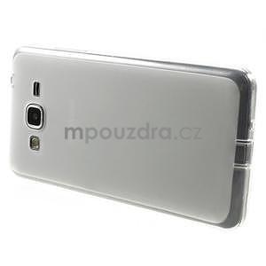Oboustranně matný kryt na Samsung Galaxy Grand Prime - bílý - 5