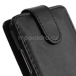 Černé flipové pouzdro na Samsung Galaxy Grand Prime - 5