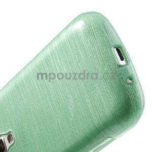 Broušený gelový kryt na Samsung Galaxy S Duos - zelený - 5