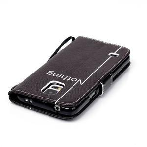 Knížkové PU kožené pouzdro na Samsung Galaxy S5 - nothing - 5