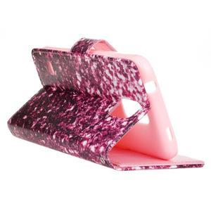 Knížkové PU kožené pouzdro na Samsung Galaxy S5 - gradient - 5