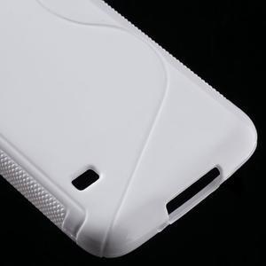 S-line gelový obal na mobil Samsung Galaxy S5 - bílý - 5