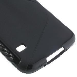 S-line gelový obal na mobil Samsung Galaxy S5 - černý - 5