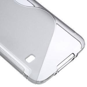 S-line gelový obal na mobil Samsung Galaxy S5 - šedý - 5