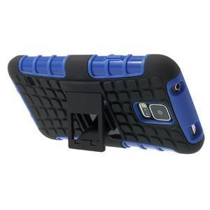 Outdoor odolný kryt na mobil Samsung Galaxy S5 - modrý - 5