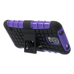 Outdoor odolný kryt na mobil Samsung Galaxy S5 - fialový - 5