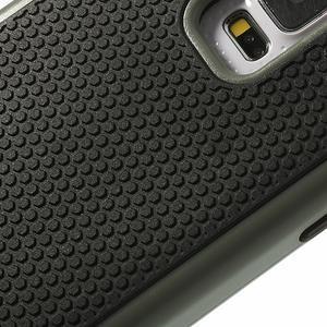 Odolný obal 2v1 na mobil Samsung Galaxy S5 - šedý - 5