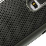 Odolný obal 2v1 na mobil Samsung Galaxy S5 - šedý - 5/6