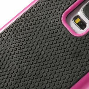 Odolný obal 2v1 na mobil Samsung Galaxy S5 - rose - 5
