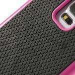 Odolný obal 2v1 na mobil Samsung Galaxy S5 - rose - 5/6