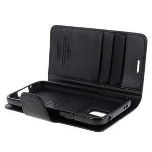 Sonata PU kožené pouzdro na Samsung Galaxy S5 mini - černé - 5