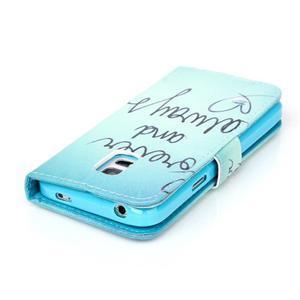 Stand peněženkové pouzdro na Samsung Galaxy S5 mini - love - 5
