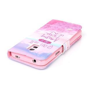 Stand peněženkové pouzdro na Samsung Galaxy S5 mini - myšlenky - 5
