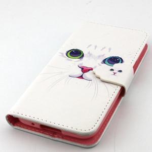 Peněženkové pouzdro na mobil Samsung Galaxy S5 mini - kočička - 5