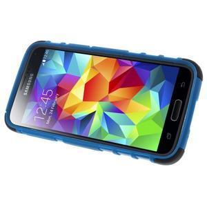 Outdoor odolný obal na mobil Samsung Galaxy S5 mini - modrý - 5
