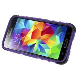 Outdoor odolný obal na mobil Samsung Galaxy S5 mini - fialový - 5
