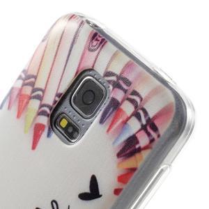 Gelový kryt na mobil Samsung Galaxy S5 mini - smile - 5