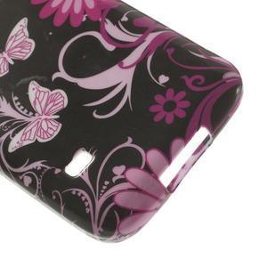 Softy gelový obal na Samsung Galaxy S5 mini - kouzelní motýlci - 5